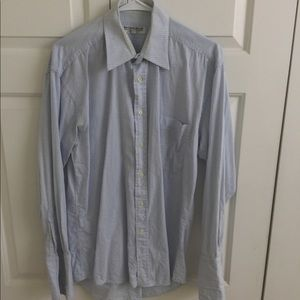 Monsieur by Givenchy light blue button down shirt